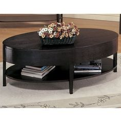 BISHOP OVAL COFFEE TABLE IN CAPPUCCINO BY COASTER - Click image twice for more info - See a larger selection of oval coffee tables at http://zcoffeetables.com/product-category/oval-coffee-tables/ - home, home decor, home ideas, home furniture, office furniture, table, gift ideas, living room,