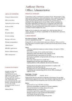Resume Template For Administrative Position Awesome Resume Templates For Highschool Students Check More At Https .