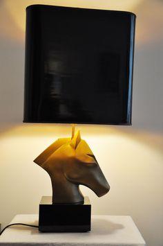 lampe cheval  http://lampevintage.blogspot.fr/