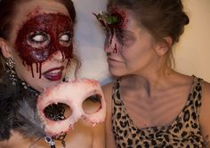 Linda fick sig en liten alien kompis på Halloween, som vi döpte till Lennart:D Han hade bott i hennes hjärna ett bra tag och stulit hennes näring så hon blivit väldigt sjuk och utmärglad! Så han…