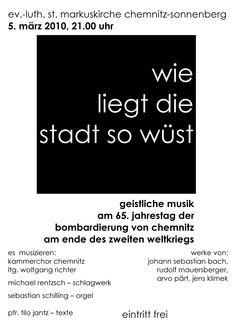 2010-03-05  Gedenkkonzert    www.kammerchor-chemnitz.de