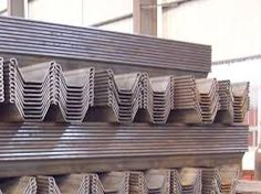 17 Best Sheet Pile Walls And Foundations Images Wood