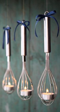 DIY Tea Candle Whisk Latern inspired by The Hundred-Foot Journey Movie Party #neat