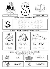 Alfabetizando com Mônica e Turma: Alfabeto - atividades Spanish Lessons, Workout For Beginners, Teaching, Education, Math, Everton, Homeschooling, Maria Valentina, 233