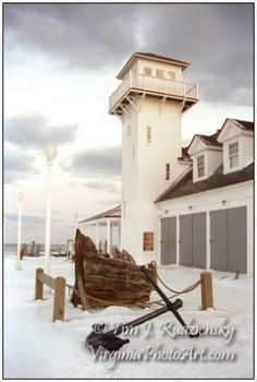 Old Coast Guard Station - Winter is Coming!