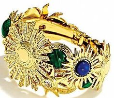 Tony Duquette (in association with Coach) - Sunburst Cuff