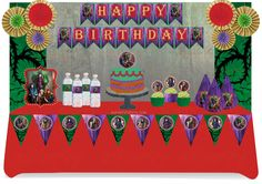 Go Party Fiesta  - Inspired Descendants Party Pack for 12, $65.00 (http://gopartyfiesta.com/inspired-descendants-party-pack-for-12/)
