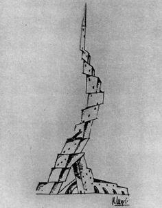 Nicolai A. Ladovsky, Maison Commune, 1919