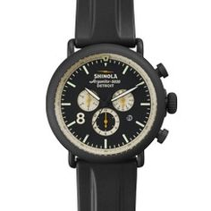 <p>The next evolution of Detroit watchmaking has arrived. Features include a commanding black dial with three cream subdials and date indicator, powered by the Detroit-built Argonite 5030 high-accuracy quartz movement.</p>