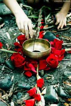 Indigenous peoples understood the power inherent in blood. Menstrual blood in particular was seen to embody the creative energy of the Goddess. Photo by Chanel Baran