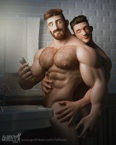 A Arte Homoerótica de Albron