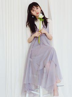 Saito Asuka, Fashion Models, High Waisted Skirt, Tulle, Ballet Skirt, Spring Summer, Actresses, Celebrities, Beauty