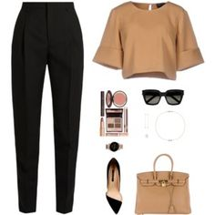 Designer Clothes, Shoes & Bags for Women Glamouröse Outfits, Office Outfits, Cute Casual Outfits, Stylish Outfits, Fall Outfits, Fashion Outfits, Womens Fashion, Elegantes Business Outfit, Elegantes Outfit