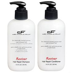 De Fabulous Reviver Shampoo and Conditioner Set for chemically treated porous and overstressed hair sulfate free 85 fl oz * Check this awesome product by going to the link at the image.(This is an Amazon affiliate link and I receive a commission for the sales)