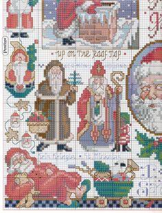 Sampler Babbo Natale3
