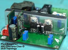 200W HiFi Discrete UcD Class-D Amplifier Class D Amplifier, Audio Amplifier, Hifi Audio, Test Video, Circuit Diagram, Usb Flash Drive, Electronics, Cars, Design