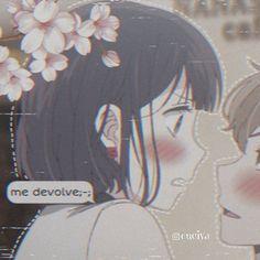 No photo description available. Otaku Anime, Anime Neko, Kawaii Anime Girl, Manga Kawaii, Anime Art Girl, Anime Couples Drawings, Anime Couples Manga, Cute Anime Couples, Anime Love