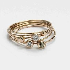 diamond seed 2pt. stacking ring | review | Kaboodle