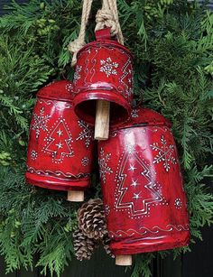 Christmas Cowbells by A Texas Girl's Favorites