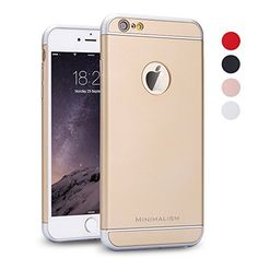 iPhone 6 Case, MINIMALISM 3 in 1 Ultra Thin and Slim Design Coated Premium Non Slip Surface with Excellent Grip Case Fit for iPhone 6 (4.7'')(2014) and iPhone 6S (4.7'')(2015) -- Gold, http://www.amazon.com/dp/B0186XEWOM/ref=cm_sw_r_pi_awdm_0800wb010SYYK