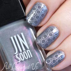 JINsoon Fall 2015 nail art
