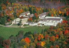 Enjoy the fall foliage at Canyon Ranch in the Berkshires in Lenox, Massachusetts