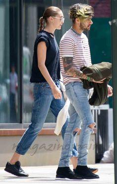 Gigi Hadid y Zayn Malik paseo por New York