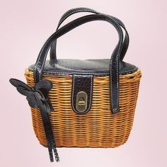 Is it a basket is it a bag? - It's both! Finally combined to make a beautiful vintage-inspired bundle of loveliness. Finished in vegan leather of course  #rattan #basket #bag #veganleather #reaponsiblefashion #vegan #vintage #fashion #love #shoploren #cute #pretty #beautiful #wow #amazing #summer #picnic #gift #giftforher #love #instalike #instalove #madewithlove #crueltyfree
