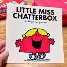 What a talker!.  When Little Miss Chatterbox starts a sentence she just goes on and on.  In fact, she uses up all the words.  It is so unexpected!! Giving in to self-centered interests like Miss Chatterbox means that your brain is out of the group.