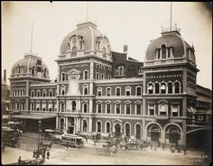 Lost Landmarks Project Returns to Show the History of Grand Central Terminal... The second of the Lost Landmarks series by Matt Felson. The custom binocular viewers will show how the famous Grand Central Terminal looked in a previous era.