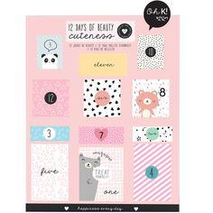 Beauty Calendario del Adviento - 12 Days of Cuteness / beauteprivee.es