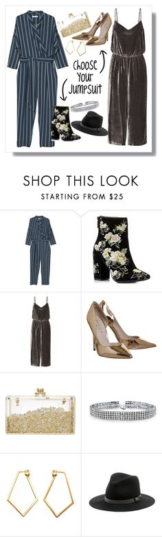"""""""Jumpsuits lover"""" by poisaddicted ❤ liked on Polyvore featuring MANGO, Miss Selfridge, Madewell, Bling Jewelry, Dutch Basics and Sole Society"""