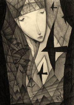 Crows in the Dark Night | por Gustav Klim