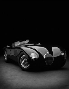 "super-special-elite-vintage: ""  jaguar c type """