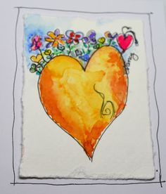 Nancy's Arts & Crafts: More Small Paintings