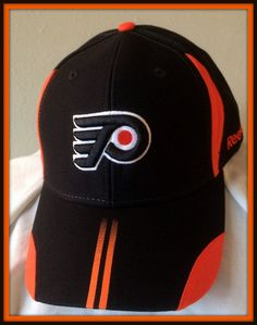 PHILADELPHIA FLYERS REEBOK FACE OFF ADULT ADJUSTABLE OSFA HOCKEY CAP #Reebok #PhiladelphiaFlyers