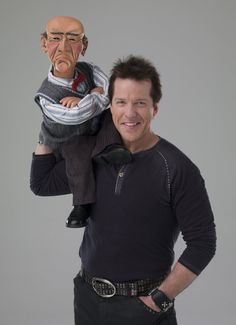 Walter and Jeff Dunham comedians Funny Love, You Funny, Funny People, Funny Stuff, Funny Guys, Hilarious, Jeff Dunham Walter, Jeff Dunham Achmed, Las Vegas