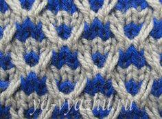 Knitting For Kids, Baby Knitting Patterns, Lace Knitting, Knitting Stitches, Stitch Patterns, Knit Crochet, Fair Isle Pattern, Crochet Handbags, Mosaic Patterns