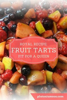 Recipe | Fruit tarts. Simple but beautiful fruit tarts that are perfect for baking with children. These are so simple to make that kids of all ages can cook with you. And yet, they look fit for a Queen. Includes full ingredients list and method.