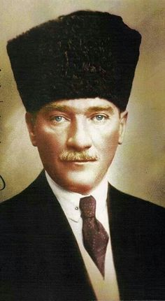 M Kemal Ataturk Great Leaders, Short Hairstyles For Women, Short Hair Styles, History, People, Pictures, Ottoman, Painting, Bob Styles