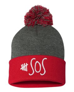 5 seconds of summer POM POM Beanie 5sos by ShopTopShirt on Etsy