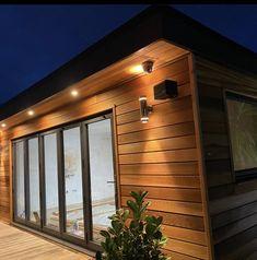 Western Red Cedar Cladding, Corner Moulding, Timber Buildings, Cedar Fence, Garden Office, Northern California, Carpentry, Westerns, Shed