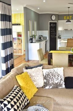 A house full of sunshine: Fall home tour.... downunder!