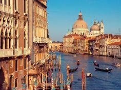 Grand Canal, Venice, Italy #venice #italy