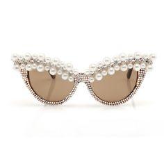 A-morir pearl-studded sunglasses.