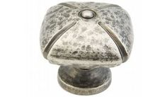 Schaub and Company | 251-VN | Vibra Nickel | Cabinet Hardware > Cabinet Knobs