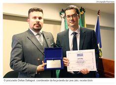 Exclusivo! Deltan Dallagnol recebe título de doutor honoris causa de instituição investigada pelo MP em Mato Grosso.