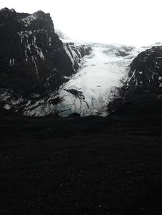 Eyjafjallajökull in Hvolsvöllur, Suðurland located under a glacier belw up in 2010