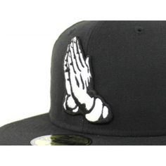 Praying Hands New Era 59Fifty Fitted Hat (Gray Under Brim) 1e074ea2c2d