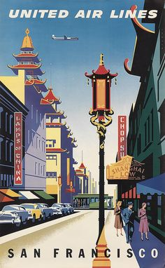 JOSEPH BINDER, UNITED AIR LINES / SAN FRANCISCO. 1957.